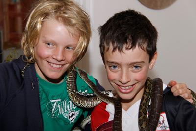 hold-a-snake